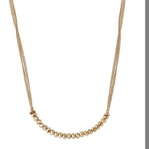 Stella & Dot- piper necklace Gold